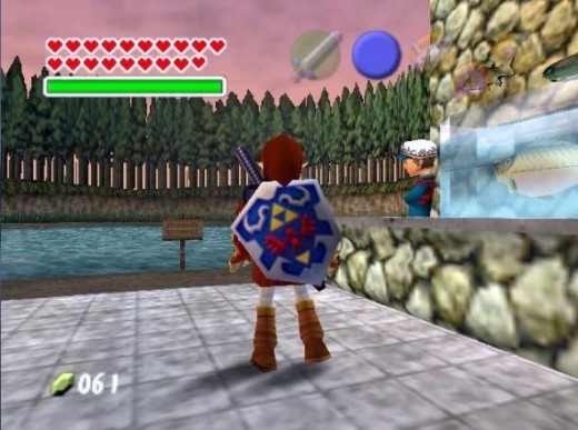 ocarina-of-time-fishing-pond