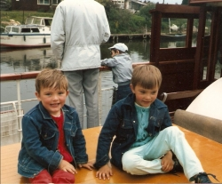 Eldest 2 sons when they were 5 and 3