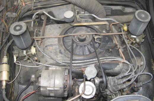 The 110 hp motor