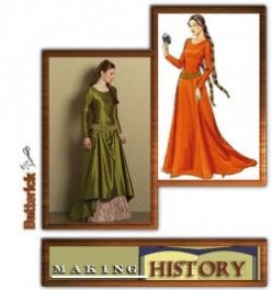Modern Costume Patterns for Medieval Clothing