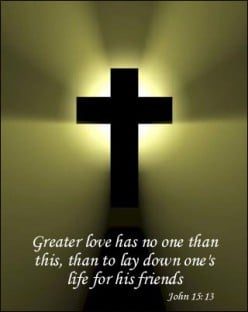 The New Commandment to love one another!
