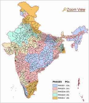 India: 28 states, 7 Union Territories