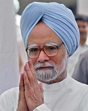 Indian Prime Minister Manmohan Singh : very humble and down to earth
