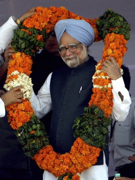 Welcome back to power Dr Manmohan Singh