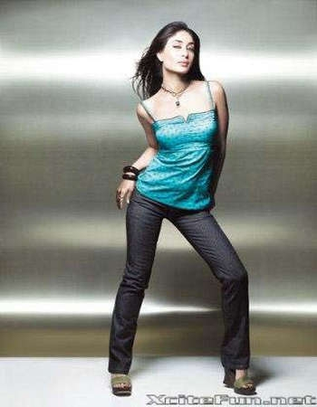 Kareena Kapoor looking hot in Blue.