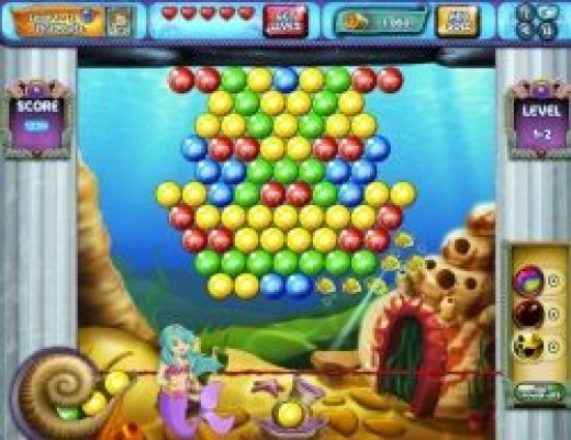 Bubble Speed Facebook Game