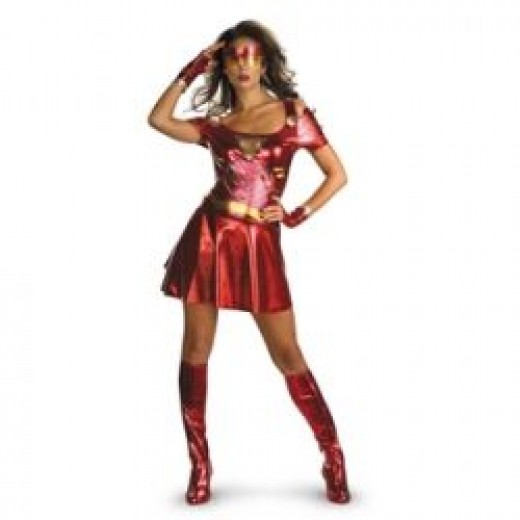 Sexy Ironman Costume