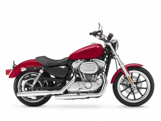 2012 Harley Davidson Sportster Iron 883 Motorcycle