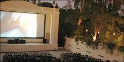 athens modern culture - open air cinemas