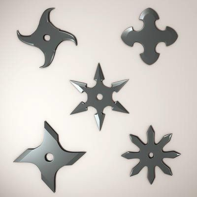 shuriken star types