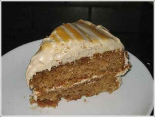 made from scratch spice cake
