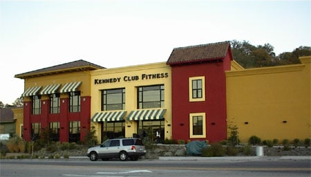 Kennedy Club Fitness, Paso Robles, street view