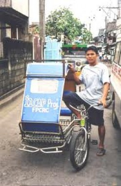 Pedicab in the Philippines