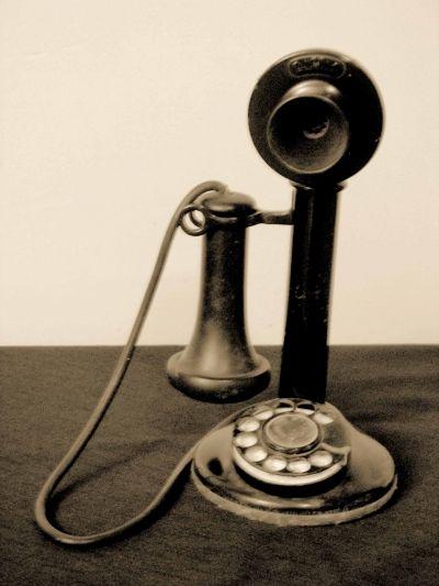MY Candlestick Telephone!