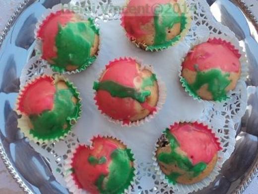 Celebration Cupcakes - Fruit cupcakes - Nut cupcakes