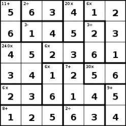 KenKen Strategies: How To Solve The Number Puzzle