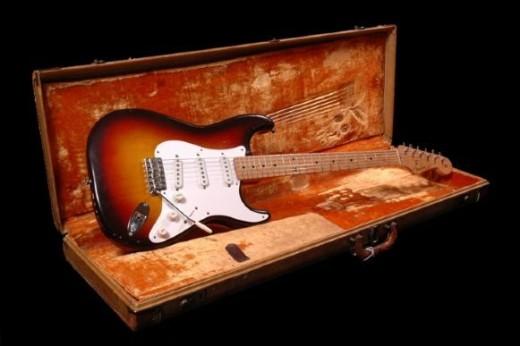 Fender Stratocaster with Maple fretboard