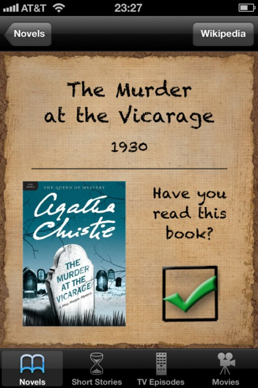 Miss Marple for iOS