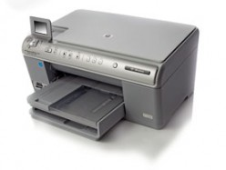 An all-in-one or multifunction printer that can print, scan and fax