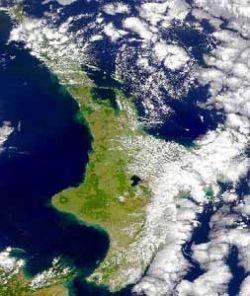 Taupo Caldera (Credit: NASA, Goddard Earth Sciences Data and Information Services Center)