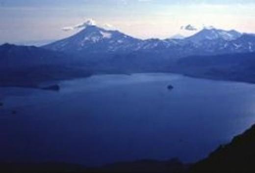 Kurile Lake Caldera (Fair Use Source: Smithsonian)