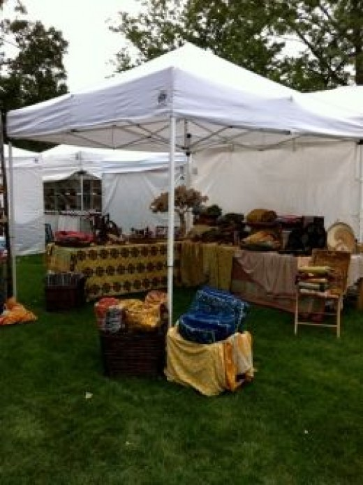 Get the perfect spot for people to see your wonderful crafts