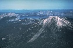 Crater Lake (Fair Use Source: Smithsonian)
