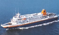 The Cruise Ship Bremen