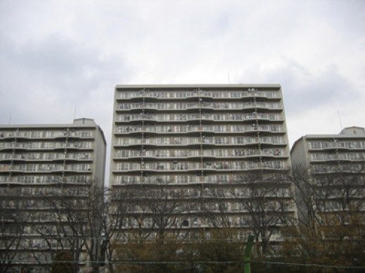 Z City company apartment blocks