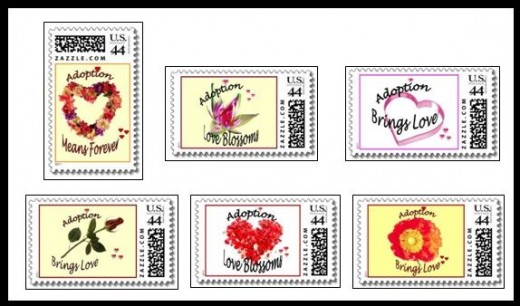 Adoption Postage Stamps