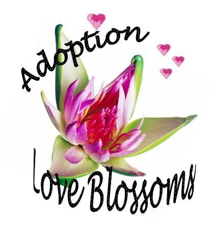 Asian Flower Design - Adoption Love Blossoms