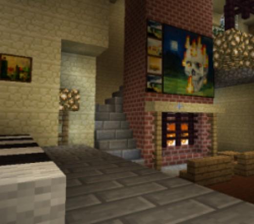 Minecraft Living Room Furniture