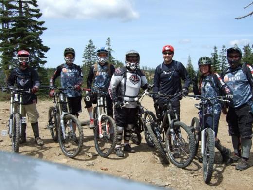downhill racing bikes
