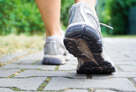 Walk more to boost energy levels