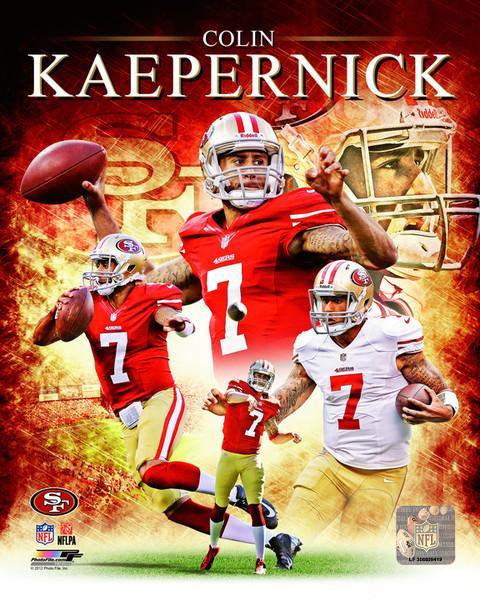 Colin Kaepernick NFL QB Photograph