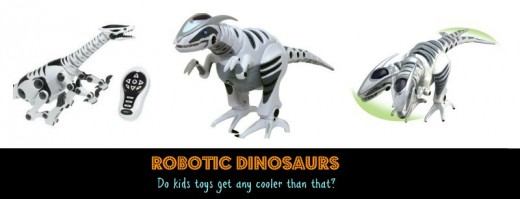Robotic Dinosaurs Cool Childs Xmas Gift