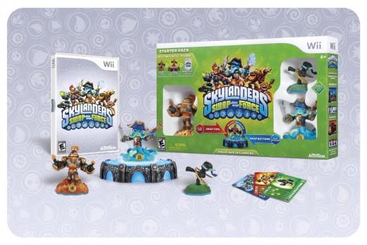 Skylanders kids toys and video game