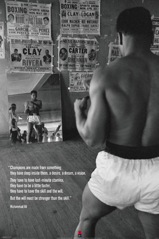 Mohammed Ali Workout Poster