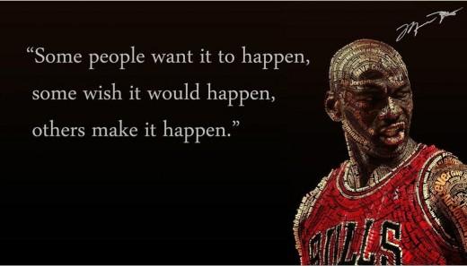 Michael Jordan Poster and Quote