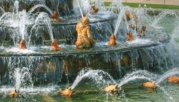 Detail of Fountain of Apollo.