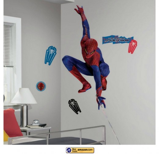Spiderman Vinyl Wall Decal