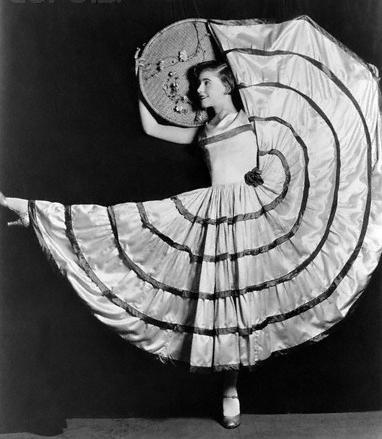 Ginger in Vaudeville, age 15