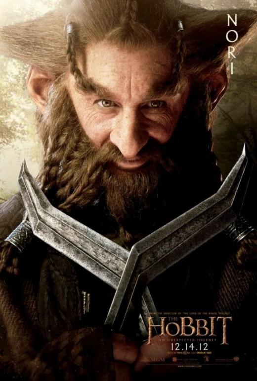 The Hobbit Dwarves - Nori