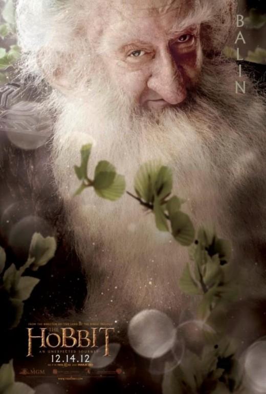 Balin the Wise Hobbit Dwarf