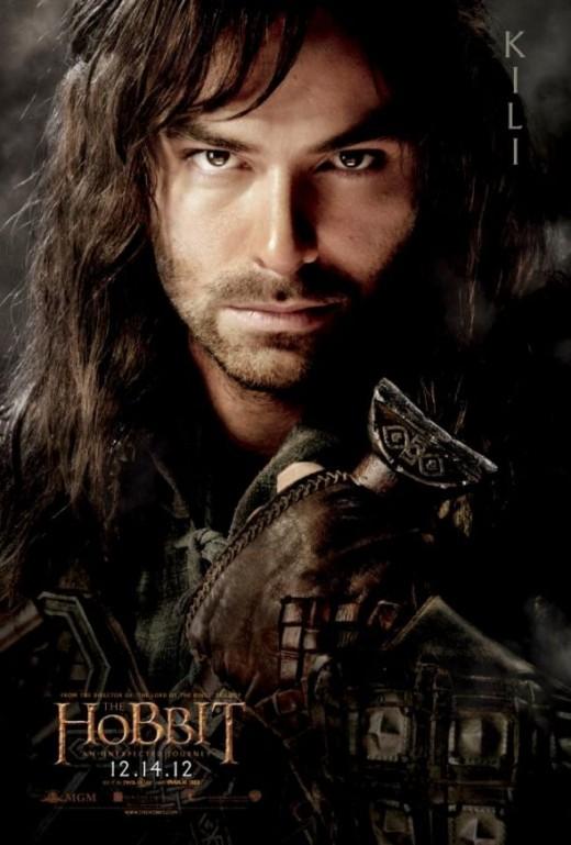 Kili The Dwarf from Hobbit Movie