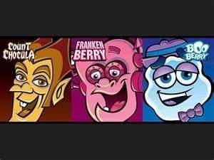 Frankenberry, BooBerry, and Count Chocula were spooky fun breakfast cereals. Photo shared on Flickr.