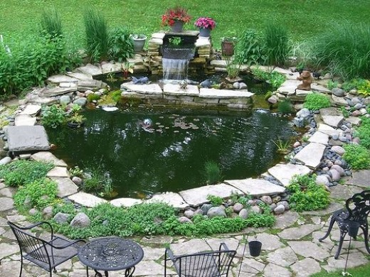 Feng Shui Backyard Pond : How To Arrange Feng Shui Garden Pond