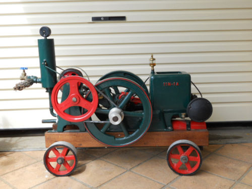 Open Crank Stationary Vintage Engines