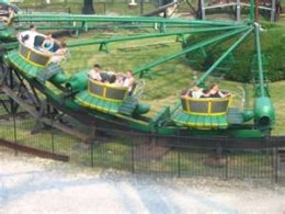 The Turtle is one of only two Tumblebug rides still operating in North America.