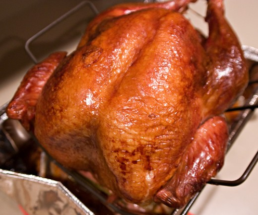 Roasted Turkey - Crispy and Tasty (Photo courtesy by Tommy Williams from Flickr)